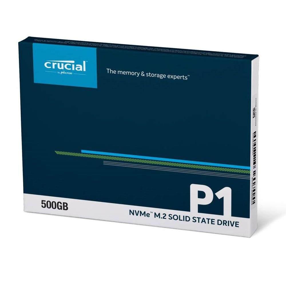 Crucial 500GB P1 NVMe M.2 SSD รีวิว crucial p1 nvme หน่วยความจำ ssd คุ้มราคา - รีวิว Crucial P1 NVMe หน่วยความจำ SSD คุ้มราคา