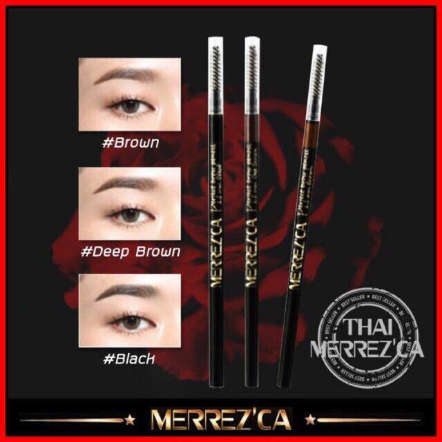 Merrez'ca Perfect brow Pencil #Brown