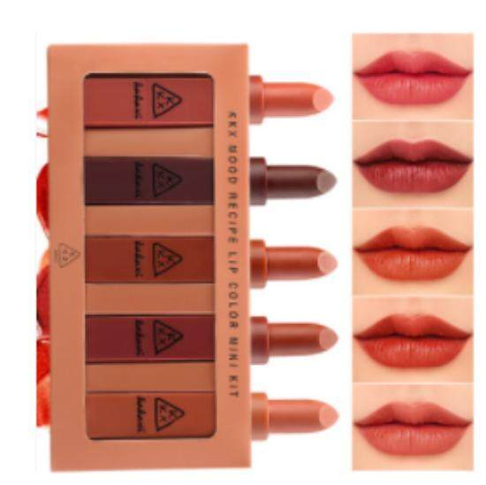 เซตลิป  MOOD RECIPE LIP COLOR MINI KIT ( 1 set )