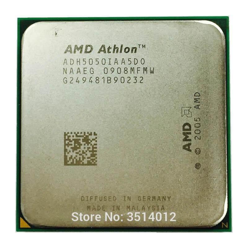 Original AMD Athlon 64 X2 5050e 5050 2.6 GHz Dual-Core CPU Processor ADH5050IAA5DO Socket AM2 (Version: Used)