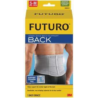 Futuro™ Stabilizing Back Support ฟูทูโร่™ อุปกรณ์พยุงหลัง (เล็ก-กลาง)-