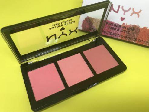 Nyx powder blush fard a joues #02