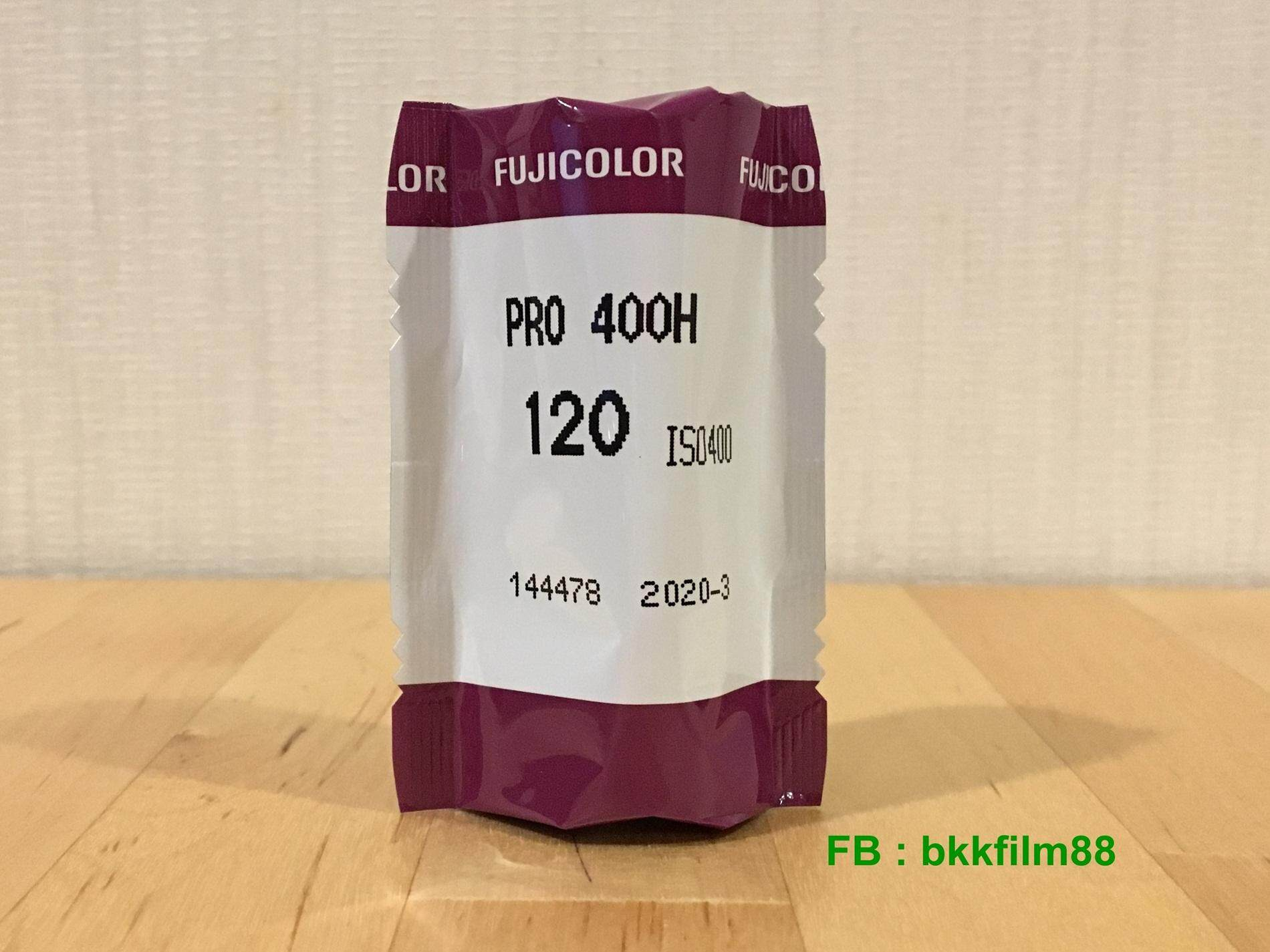 ฟิล์มสี Fujifilm Pro 400H 120 Color Professional Film Medium Format Fuji