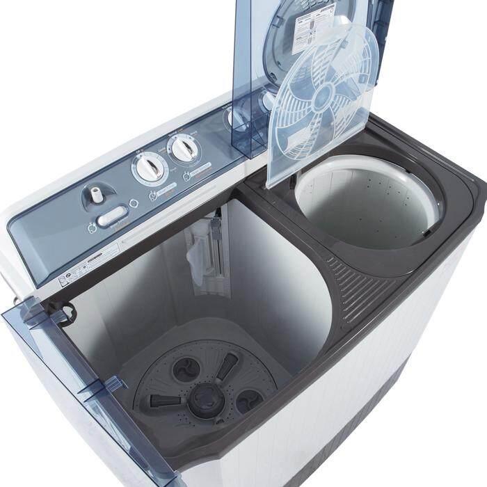 ลดล้างสต๊อกส่งท้ายปี เครื่องซักผ้า ซัมซุง Sale -7% Samsung เครื่องซักผ้า 2 ถัง ขนาด 12 kg. รุ่น WT12J4200MB/ST รีวิวที่ดีที่สุด