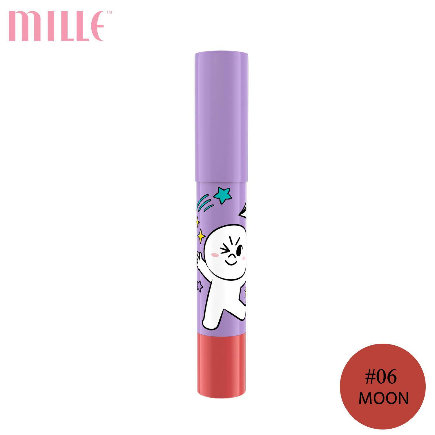Mille ลิปเครยอน Line Friends l Mille Iconic Crayon Lip Color 2.5g.