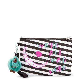 Kipling กระเป๋าClutch Kipling Ellettronico Disney  Alice In Wonderland Pouch AC8420