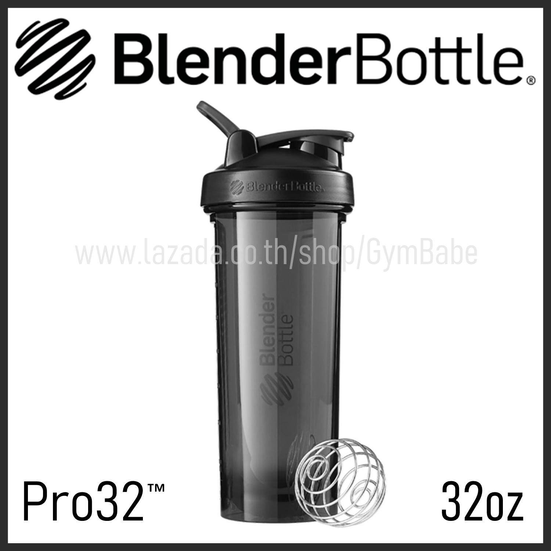 (Black) แก้วเชค BlenderBottle รุ่น Pro ขนาด 32oz แก้วShake Blender Bottle ของแท้