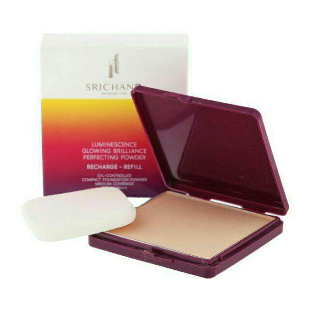 แป้งศรีจันทร์ (รีฟิล)Srichand Luminescence Glowing Brilliance Perfecting Powder (refill) 10g.
