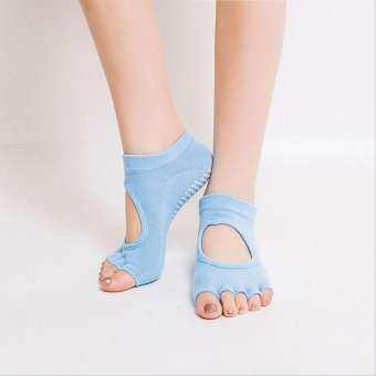 VORSTEK Summer Dot Gum  Soft Non-slip Yoga Gym Socks-