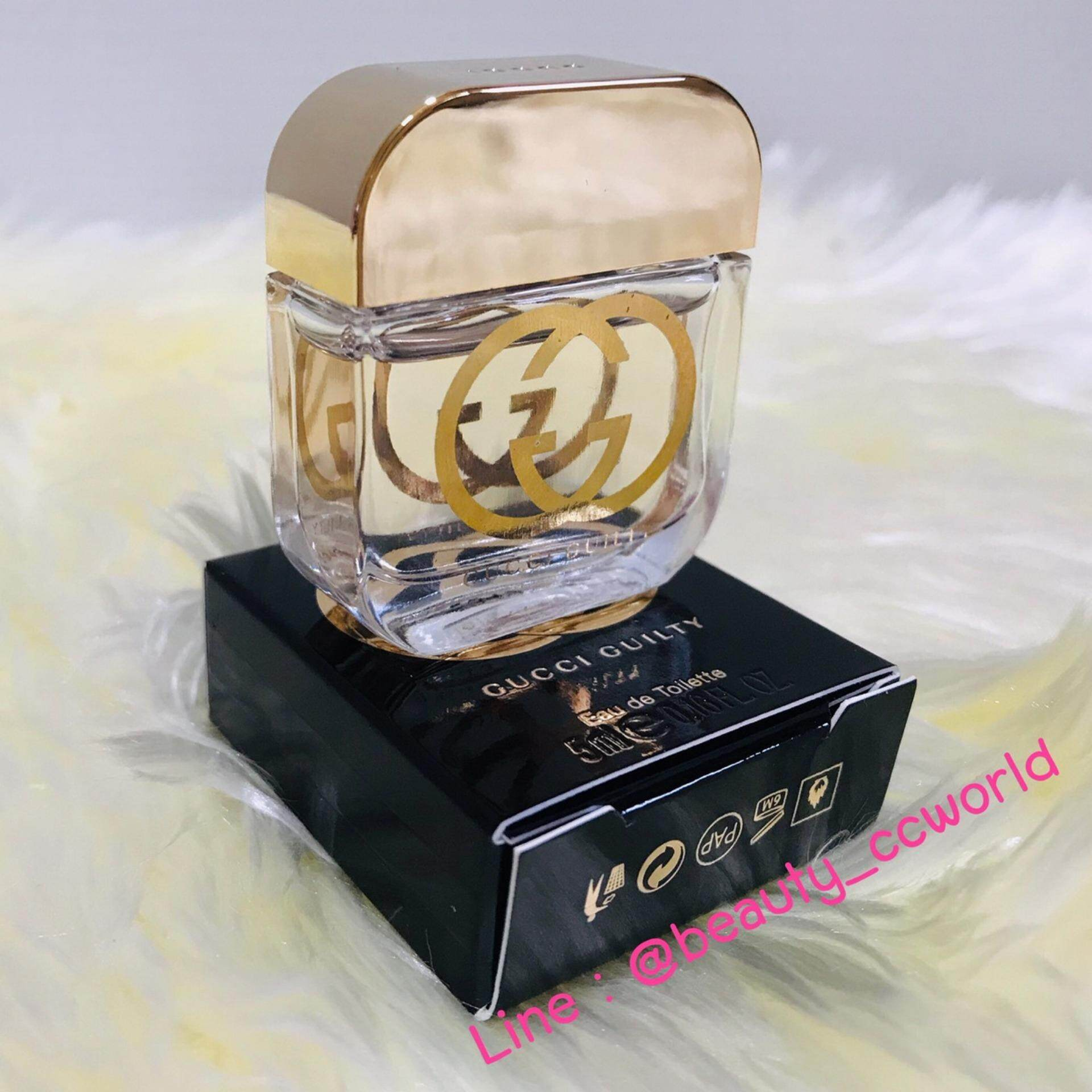 น้ำหอม GUCCI GUILTY Eau De Toilette (With Box )  5 Ml ของแท้100%