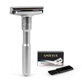 ซื้อที่ไหน QSHAVE : QSHRD228* มีดโกนหนวด Adjustable Double Edge Classic Safety Razor