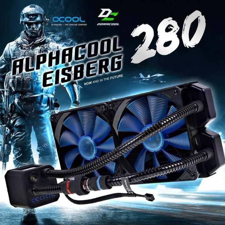 แนะนำ Alphacool Eisbaer 280 CPU Black