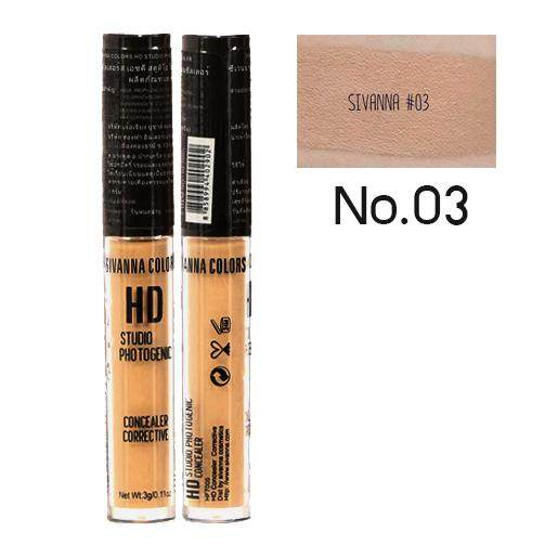 Sivanna Color Hd Studio Photogenic Concealer Corrective