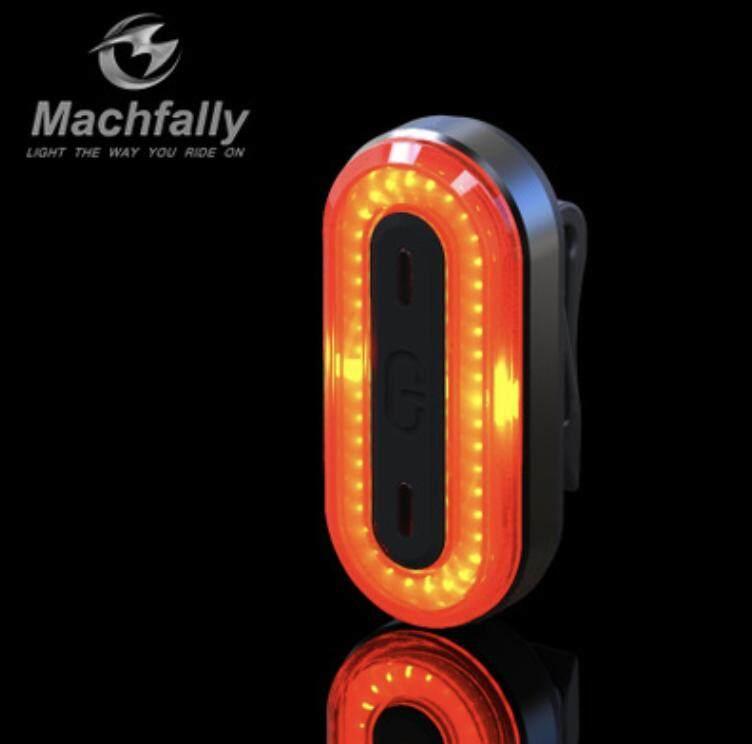 ไฟท้ายจักรยาน Machfally BK400 ชาร์จUSB (สีแดง)