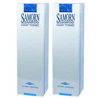 SAMORN แชมพู แฮร์โทนิค ปลูกผม แก้ปัญหาผมร่วง ผมบาง ศรีษะล้าน ผมร่วง 250ml. (2 ขวด)