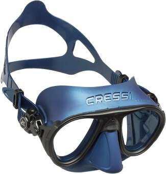 หน้ากากดำน้ำ น้ำตื้น/น้ำลึก ฟรีไดฟ์ สคูบ้า อุปกรณ์ดำน้ำ CRESSI CALIBRO MASK SIL