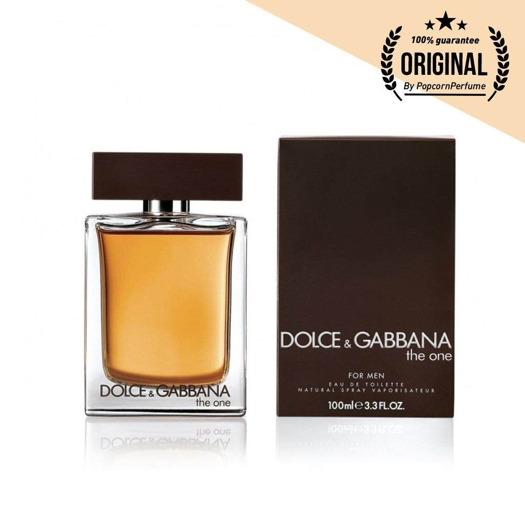 Dolce & Gabbana The One for Men EDT 100 ml. (พร้อมกล่อง)