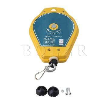 ฤดูใบไม้ผลิ Balancer เครื่องมือผู้ถือแขวน 0.6-2 กิโลกรัมสีเหลือง-