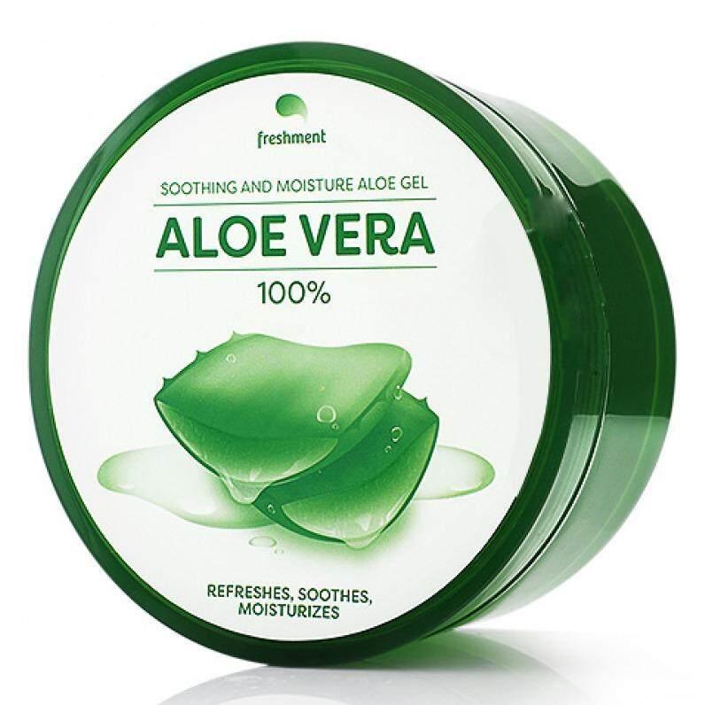เปรียบเทียบราคา Freshment Soothing And Moisture Aloe Gel เฟรซเม้นท์ เจลว่านหางจรเข้ 300 ml. ขายดีอันดับ1