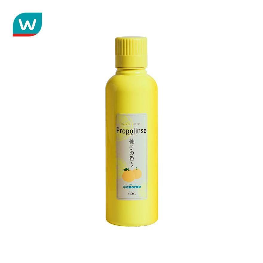 Propolinse โพรโพลินส์ น้ำยาบ้วนปาก ยูซุ 600 มล.
