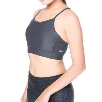 เสื้อโยคะสตรี FITSUITS LADY ACTIVE FF-Y204-02 สีเทา เสื้อรัดกล้ามเนื้อ ชุดกีฬา วิ่ง โยคะ ฟิตเนส-