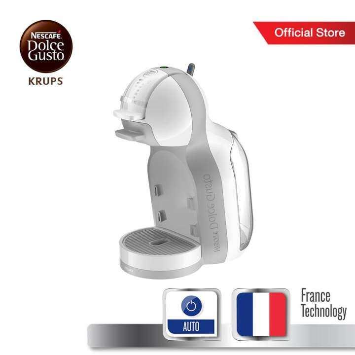 [Online Exclusive] Krups Nescafe Dolce Gusto (NDG) เครื่องชงกาแฟชนิดแคปซูล กำลังไฟ 1500 วัตต์ ความจุแท้งก์น้ำ 0.8 ลิตร รุ่น MINI ME KP120166 -White