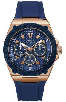 Guess Blue Dial Multifunction Men's Watch W1049G2