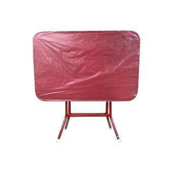 โปรโมชั่น โต๊ะพับหน้าเหล็ก3ฟุต T24