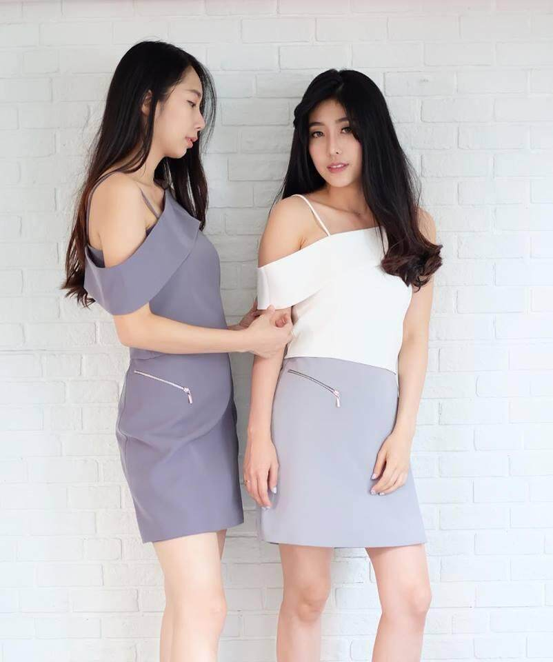Thanyalakcloset -  Chala Skirt07 กระโปรง