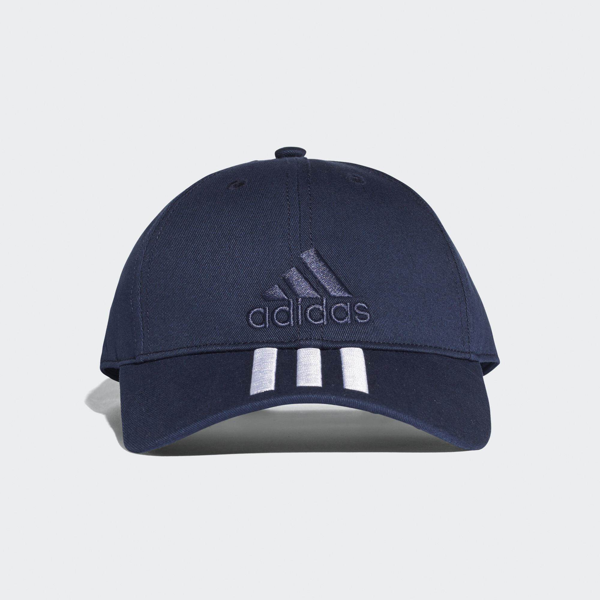ADIDAS TRAINING SIX-PANEL CLASSIC 3-STRIPES CAP BK0808