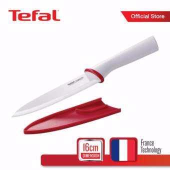 Tefal มีดเซรามิก 16 ซม. รุ่น Ingenio K1530214 - White-
