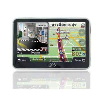 ซื้อที่ไหน GPS Navigator I จี พี เอส เครื่องนำทางสำหรับรถยนต์ หน้าจอ 5 นิ้ว ใช้งานง่าย ไม่มีหลงทาง พร้อมเสียงบอกเส้นทาง แผนที่ภาษาไทย อัพเดทฟรี