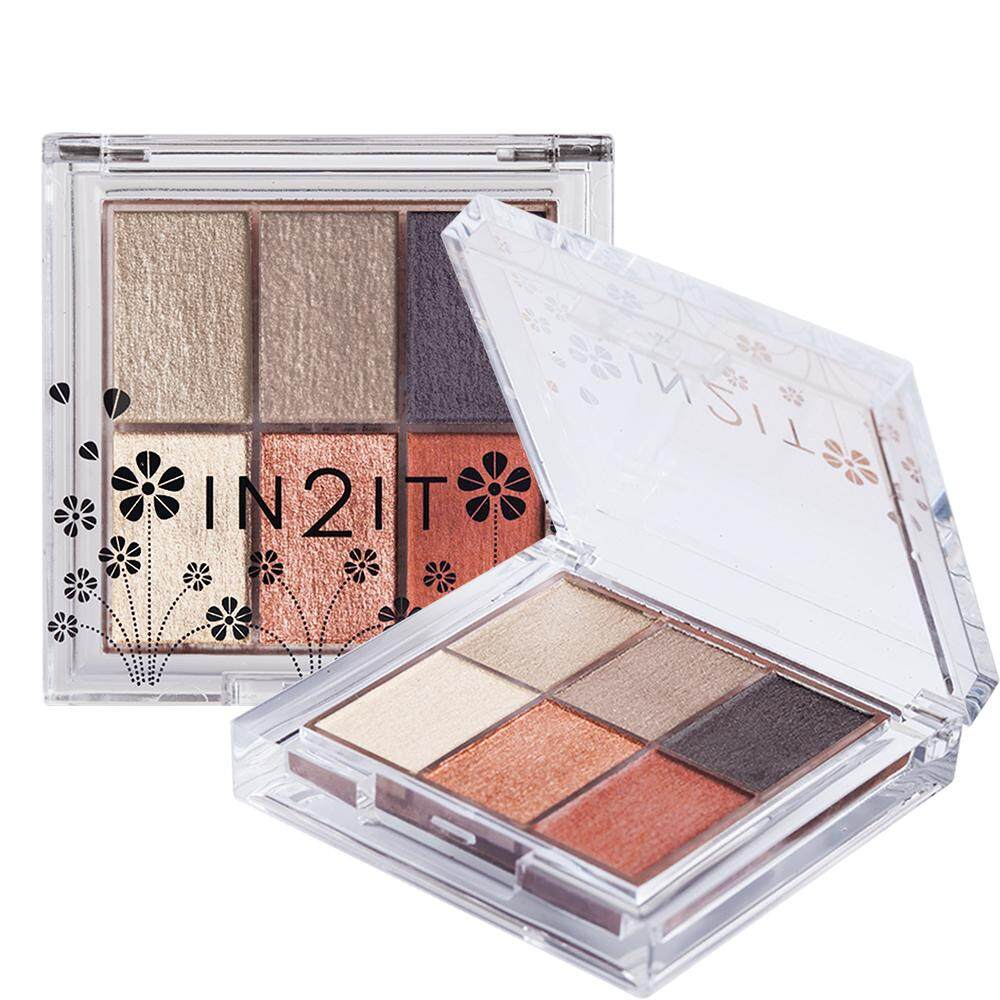 IN2IT NUDE 6 COLOUR  PALETTE  ESN03