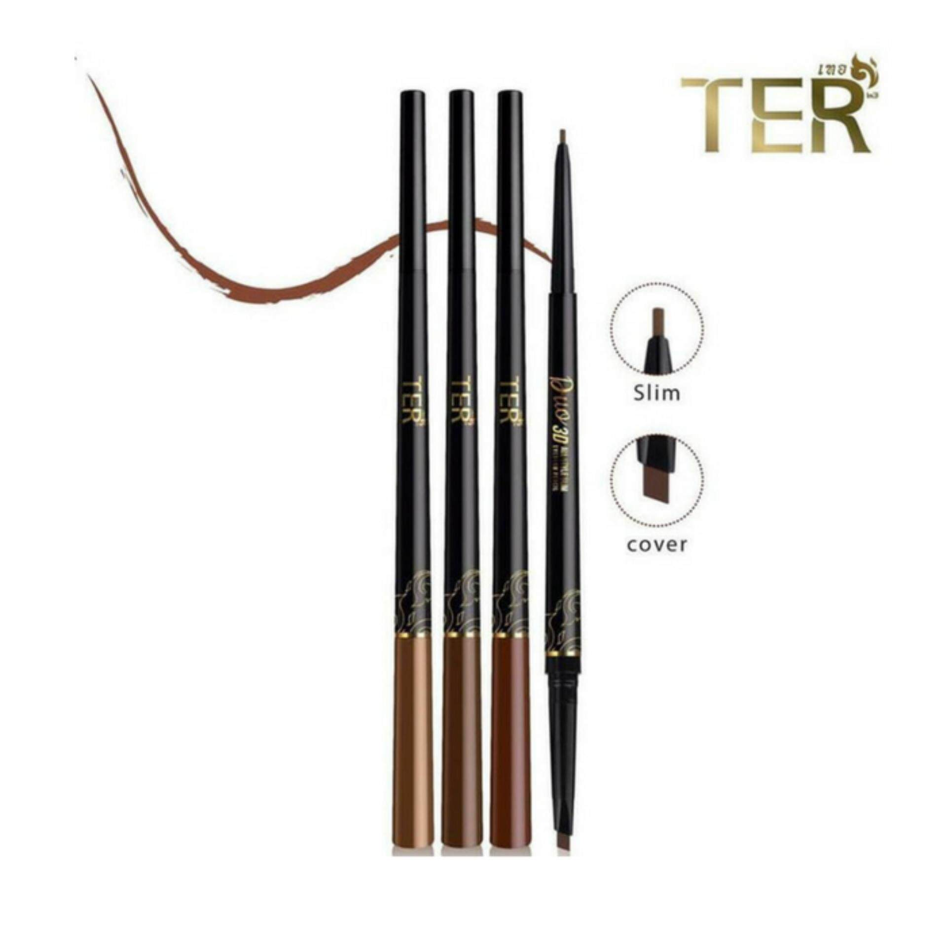 TER Duo 3D All Style Slim Eyebrow Pencil
