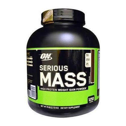 Optimum Serious Mass(Weight Gainer) 6Lbs CHOCOLATE ช็อคโกแลต