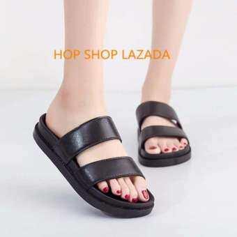 รองเท้าแตะ รองเท้าแตะหญิง รองเท้าแฟชั่น นุ่ม ใส่สบาย CDM16808  ( แนะนำให้ซื้อเพิ่ม1เบอร์)