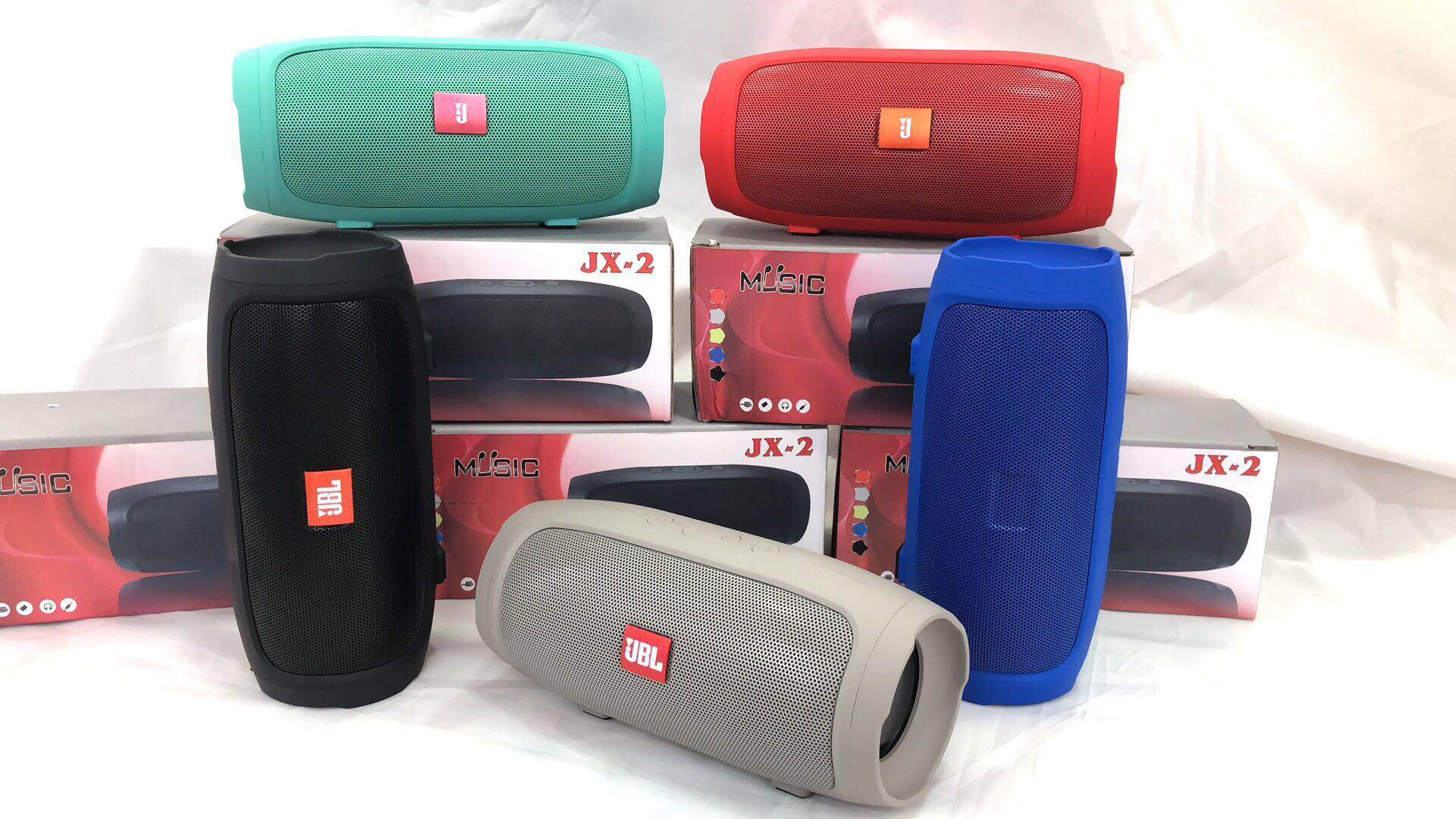 ขายถูกสุดๆ ลำโพงแบบพกพา No ลำโพงบลูทูธ Bluetooth Speaker JX-2 ลำโพงบลูทูธแบบพกพา เสียงเบสกระหึ่ม ดีจริง ๆ