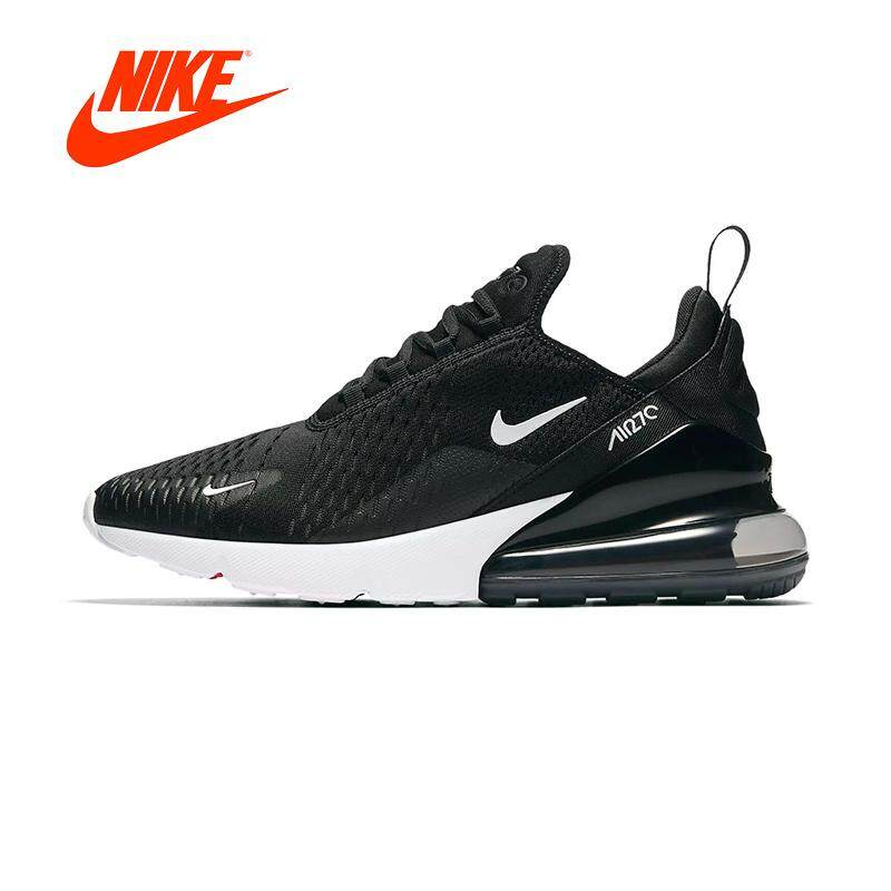 รองเท้า Nike air max 270 Dark obsidian Black/white Men'Running shose