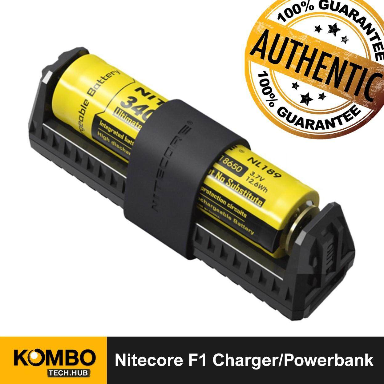 Nitecore F1 Flexbank USB Devices Power Bank by Combo Electronics