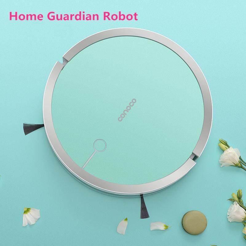 CONOCO หุ่นยนต์ดูดฝุ่นและถูพื้นแบบแท็งค์น้ำ Wifi Mapping Hybrid Robot vacuum cleaner