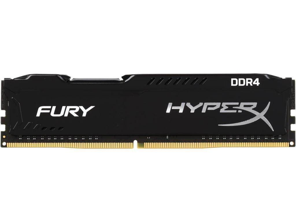 Kingston HyperX Fury DDR4 4GB/2666 (4GBx1) RAM PC Desktop (HX426C15FB/4) Black