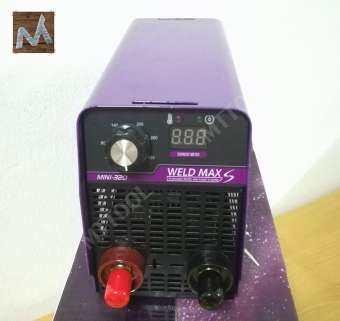 WELD MAX MINI-320 ตู้เชื่อมขนาดมินิ เครื่องเชื่อมขนาดเล็ก Mini IGBT MMA Welding Machine BY  MTTOOL-