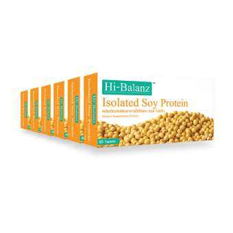 Hi-Balanz Isolated Soy Protein 800 mg. (จำนวน 6 กล่อง)