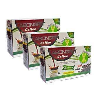 TABONGPET COFFEE กาแฟ ตะบองเพชร บรรจุกล่องละ 10 ซอง (3 กล่อง)-