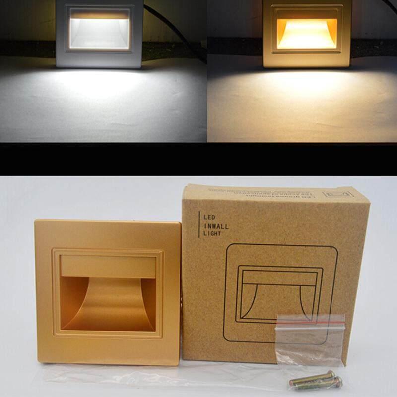 85-265 V 0.6 Wát ĐÈN LED Dán Tường Footlights Hiên Nhà Đèn Đèn Cầu Thang