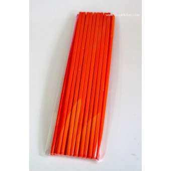 ตะเกียบเมลามีน 9.5  1แพค/10 คู่ (สีส้ม)