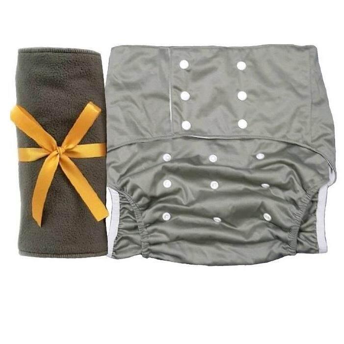 ราคา BABYKIDS95 ผ้าอ้อมผู้ใหญ่ B8 เอว 35-48นิ้ว ขอบขา3ชั้น+แผ่นซับชาโคล