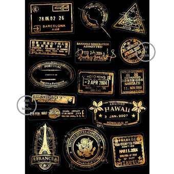ซื้อที่ไหน infinite Suitcase Sticker Set สติ๊กเกอร์ ตกแต่ง กระเป๋า เดินทาง สัญลักษณ์ ตราประทับ เมืองต่างๆ