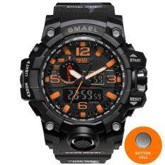 SMAEL 1545 Military Watch Digital Brand Watch S Shock Men's Wristwatch Sport LED Watch Dive 1545B 50m Wateproof Fitness Sport Watches – intl