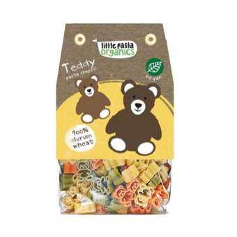 Little Pasta Organics Teddy Pasta Shapes 250g